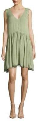 Love Sam Pom-Pom Tank Dress