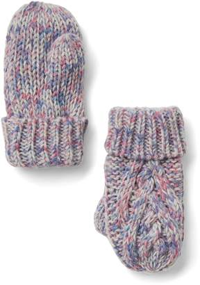 Gap Cable-knit mittens