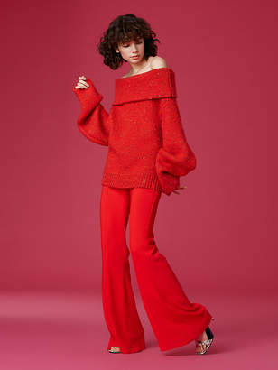 Diane von Furstenberg Oversized Chunky Turtleneck Sweater