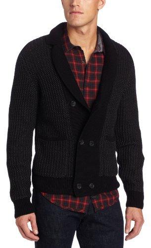 Calvin Klein Sportswear Men's Double Breasted Cardigan Sweater