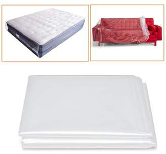 clear Kadell Mattress Bag Reusable Cover Mattress Protector Moving Heavy Duty Cover