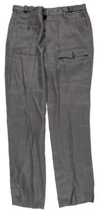 John Varvatos Linen Cargo Pants