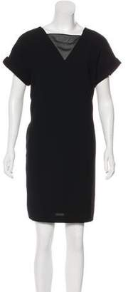 Andrew Marc Short Sleeve Mini Dress