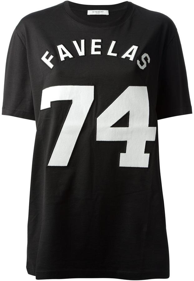 Givenchy 'Favelas 74' printed t-shirt