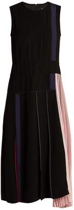 Sportmax Falco panelled dress
