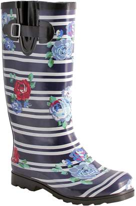 NOMAD Rubber Striped Rain Boots - Puddles