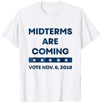 Blue Wave Midterm protest tshirt - GOTV