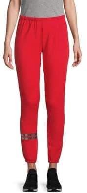 Wildfox Couture Metallic Striped Sweatpants