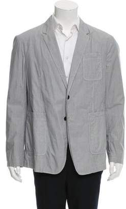 Burberry Two-Button Pinstripe Sport Coat