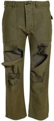 R 13 Straight Leg Pants