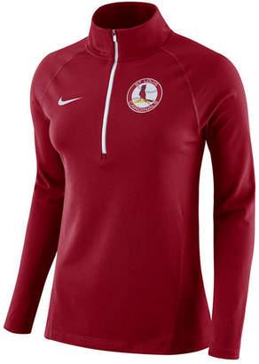 Nike Women's St. Louis Cardinals Half-Zip Element Pullover