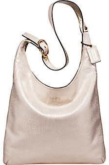 Delphine Metallic Leather