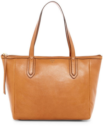Fossil Sydney Leather Tote $168 thestylecure.com