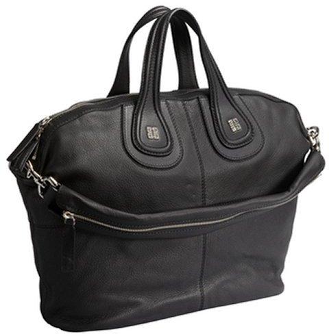 Givenchy black leather medium 'Nightingale' handbag