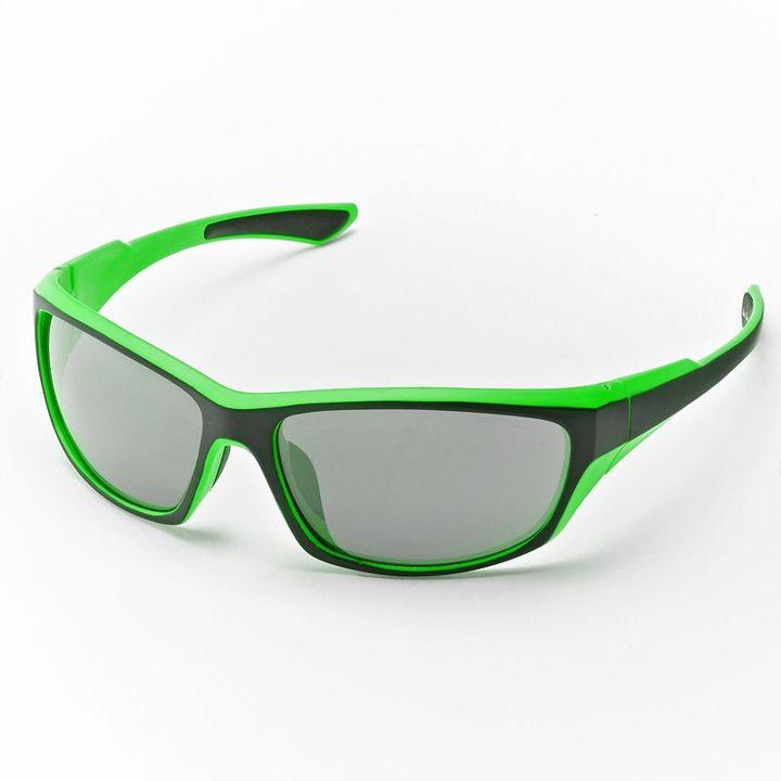 Helix rectangle wrap sunglasses