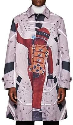 Undercover Men's Photo-Print Tech-Fabric Jacket