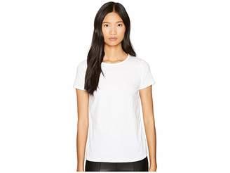 LAMARQUE Carlisa Jersey Chiffon Slit Back Tee Women's T Shirt