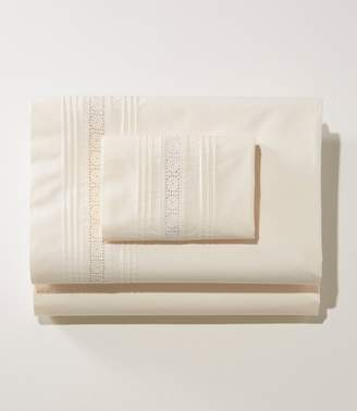 L.L. Bean L.L.Bean Sunwashed Pintuck Sheet Collection