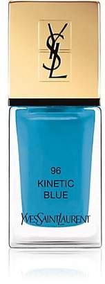 Saint Laurent Women's La Laque Couture Nail Polish - 96 Kinetic Blue