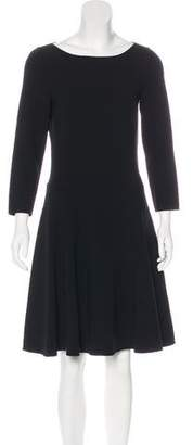 Michael Kors Flared Knee-Length Dress