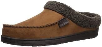 Dearfoams Men's Premium Tab & Stitch Memory Foam Clog Slippers (Medium/9-10 B(M) US, )