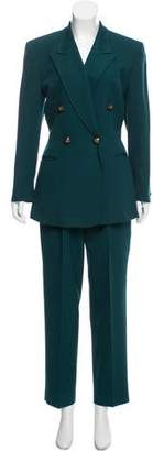 Christian Dior Structured Wool Pantsuit