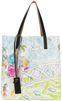 Marni shopper tote bag
