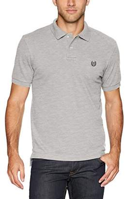 Chaps Men's Classic Fit Stretch Mesh Polo Shirt