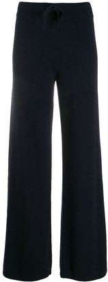 Aspesi flared knit trousers