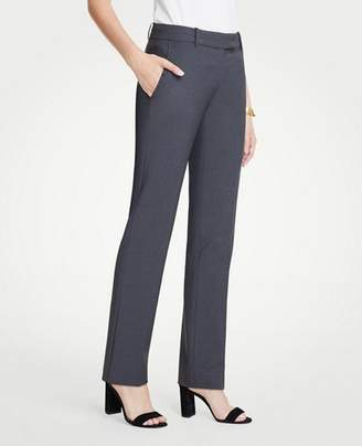Ann Taylor The Petite Straight Leg Pant In Tropical Wool - Curvy Fit