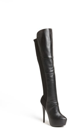 Steve Madden 'Highting' Over the Knee Pointy Toe Stretch Boot