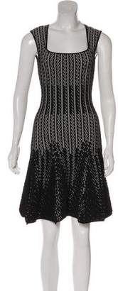 RVN Patterned Mini Dress