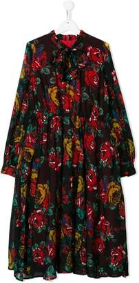 Marco Bologna Kids TEEN floral printed dress