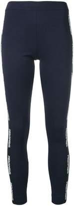 Mr & Mrs Italy logo embellished leggings