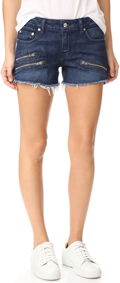 Derek Lam 10 Crosby Quinn Slim Girlfriend Cutoff Shorts $225 thestylecure.com