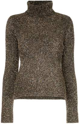 Osman glitter roll neck sweater