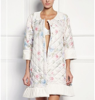 Black Label Cassidy Quilted Short Robe