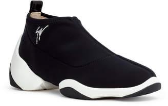 Giuseppe Zanotti Black stretch sneakers