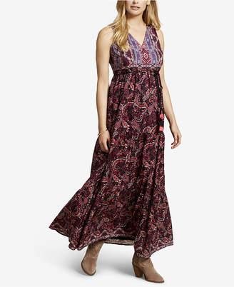 Jessica Simpson Maternity Printed Maxi Dress