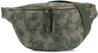 Mr & Mrs Italy camouflage-print belt bag
