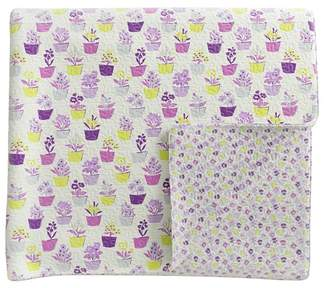 Helena Springfield - Purple Polycotton 'Polly' Quilted Bedspread