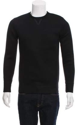 Helmut Lang Neoprene Crew Neck Sweater