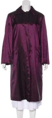 Philosophy di Alberta Ferretti Iridescent Long Coat