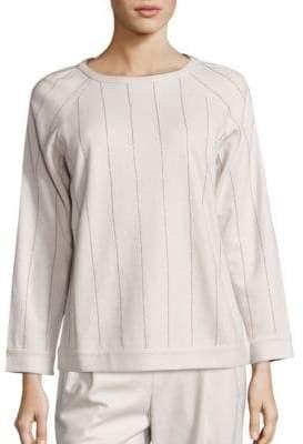 Brunello Cucinelli Striped Cashmere Pullover