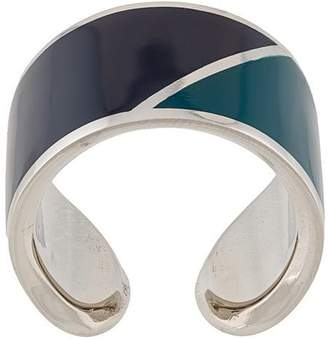Lanvin colour-block ring
