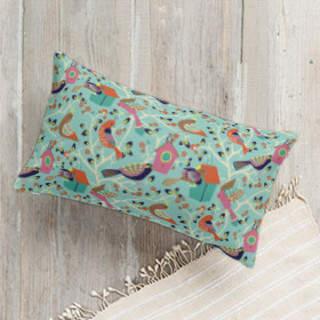 Home Tweet Home Lumbar Pillow