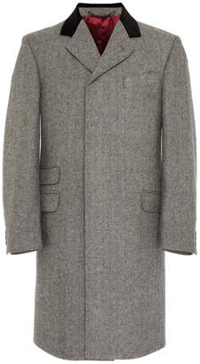 Osso London - Midwood Herringbone British Wool Overcoat