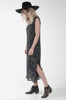 Knot Sisters Black Chiffon Dress