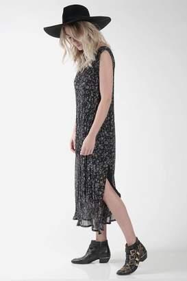 Knot Sisters Black Chiffon Dress
