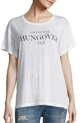 Wildfox Officially Hungover T-Shirt $68 thestylecure.com